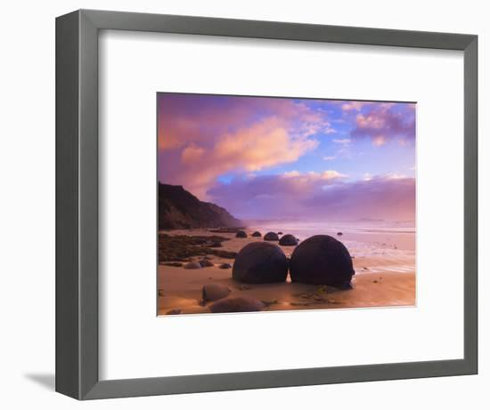 Moeraki Boulders, Moeraki, Otago, South Island, New Zealand, Pacific-Jochen Schlenker-Framed Photographic Print