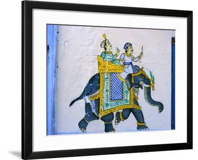 Moghul Style Wall Decoration Udaipur Rajasthan India Photographic Print By Greg Elms Art