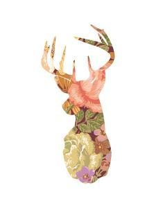 Floral Stag by Moha London