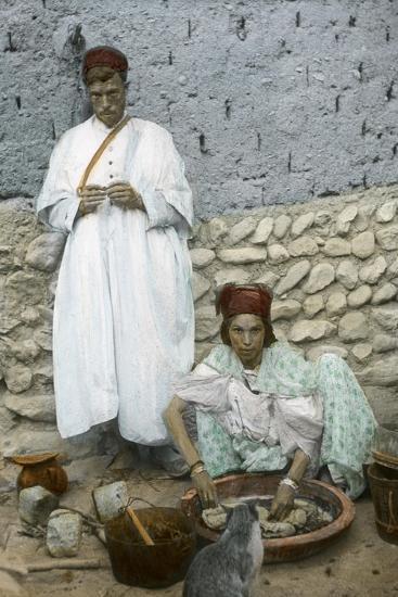 Mohamed Ben Ali and His Wife, El Kantara, Tunisia--Giclee Print