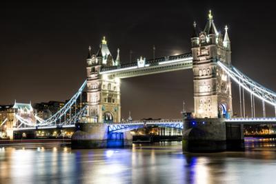 London Tower Bridge across the River Thames by Mohana AntonMeryl