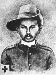 Mohandas Gandhi, Indian Nationalist Leader, 1906