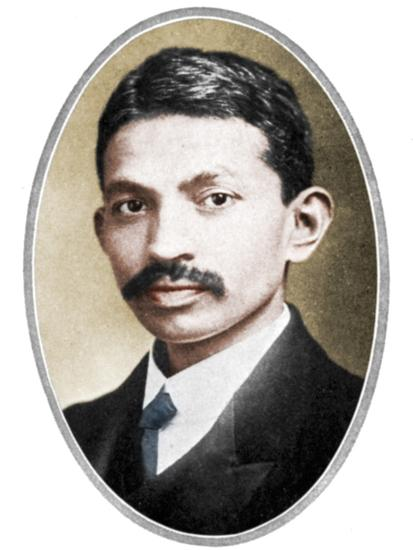 Mohondas Karamchand Gandhi (1869-1948), as a young man-Unknown-Photographic Print