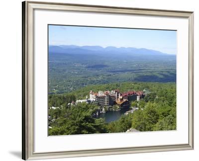 Mohonk Mountain House 2-Robert Michaud-Framed Giclee Print