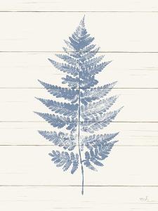 Fern Print I Blue Crop by Moira Hershey