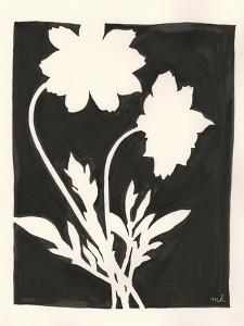 Joyful Spring I Black by Moira Hershey