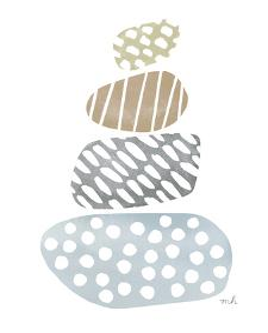 River Stones II by Moira Hershey