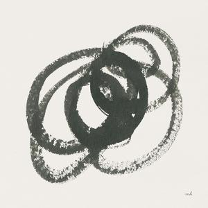 Scribbly Black IV by Moira Hershey