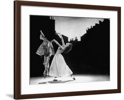 Moira Shearer Dancing in Title Ballet of Michael Powell's The Red Shoes--Framed Premium Photographic Print