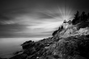 Bass Harbor Lighthouse by Moises Levy