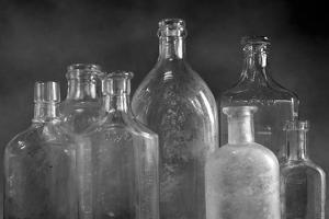 Glass Bottles by Moises Levy