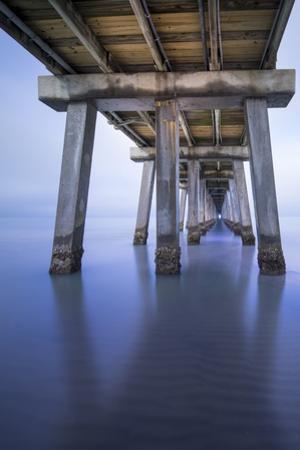 Naples Pier Vertical by Moises Levy