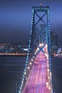 Oakland Bridge 1 Color by Moises Levy