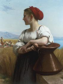Moissoneuse or LItalienne a la Fontaine, 1868-William