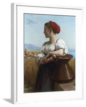 Moissoneuse or LItalienne a la Fontaine, 1868 Giclee