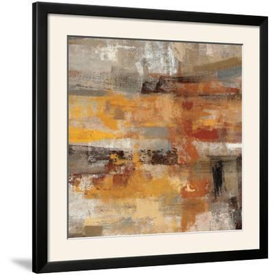 Mojave Road Crop--Framed Photographic Print
