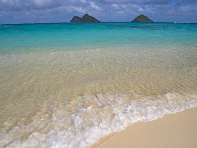 Mokulua Islands from Lanikai Beach-Darrell Gulin-Photographic Print