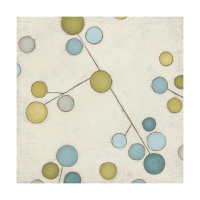 Molecular Blossoms IV-June Erica Vess-Art Print