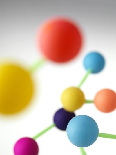 Molecular Structure-Tek Image-Photographic Print