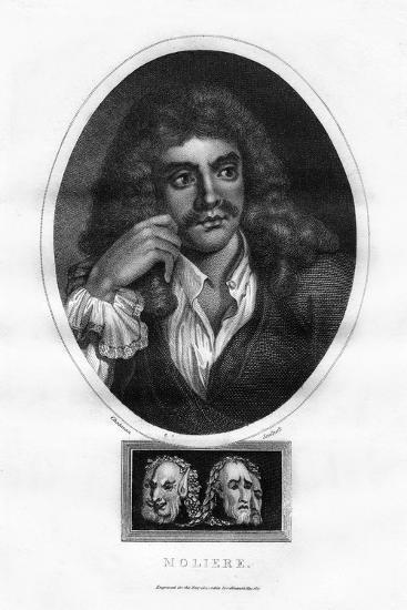 Moliere, French Theatre Writer, Director and Actor-I Chapman-Giclee Print
