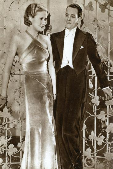 Molly Lamont and Gene Gerrard, Actors, 1933--Giclee Print