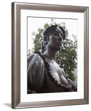 Molly Malone Statue,, Grafton Street, Dublin, Republic of Ireland, Europe-Martin Child-Framed Photographic Print