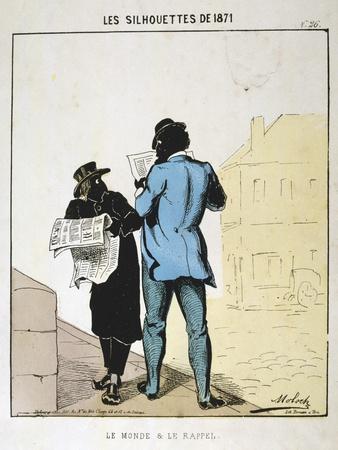 Le Monde Et Le Rappel, 1871