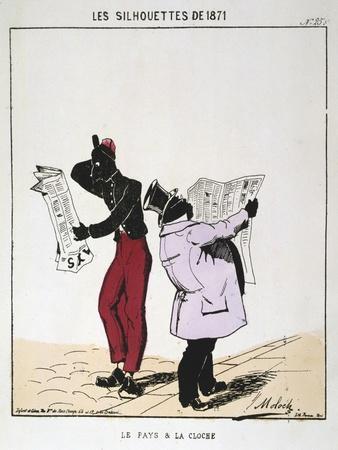 Le Pays Et La Cloche, 1871