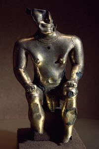 Molten Gold Lost Wax Statue Originating from Sammaraya