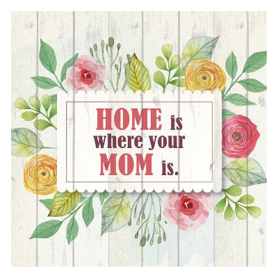 Mom Is Home-Kimberly Allen-Art Print
