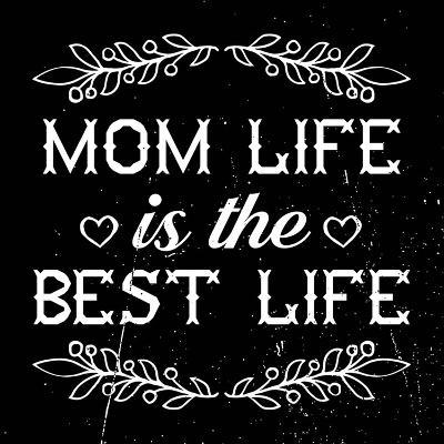 Mom Life Is The Best Life-Color Me Happy-Art Print