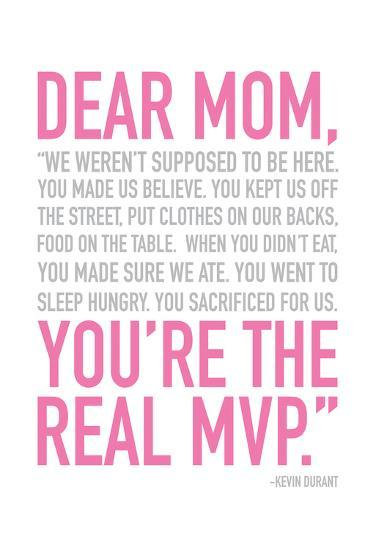 Mom Real MVP-Jace Grey-Art Print