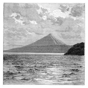 Mombacho Volcano and the Shores of Lake Nicaragua, C1890