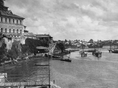 Mombasa Harbor--Photographic Print