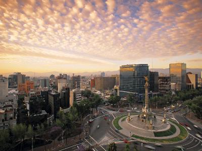 Momento a La Independencia, Mexico City, Mexico-Walter Bibikow-Photographic Print