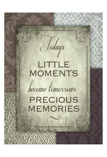 Moments and Memories-Melody Hogan-Art Print