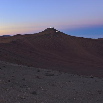 Moments before Sunrise over the Arid Atacama Desert, in Chile-Babak Tafreshi-Photographic Print