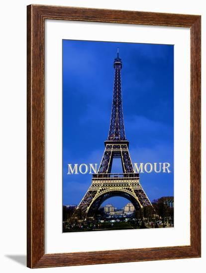 Mon Amour-Cora Niele-Framed Giclee Print