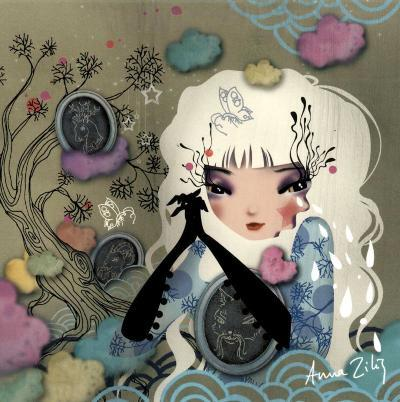 Mon Arbre Genealogique-Anna Ziliz-Art Print