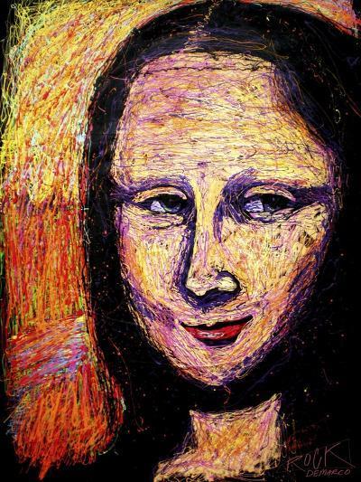Mona 002-Rock Demarco-Giclee Print