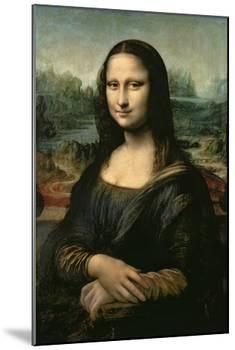 Mona Lisa, c.1507-Leonardo da Vinci-Mounted Giclee Print