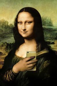 Mona Lisa Selfie Portrait