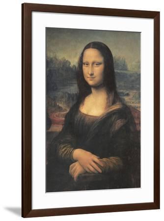 Mona Lisa-Leonardo Da Vinci-Framed Art Print