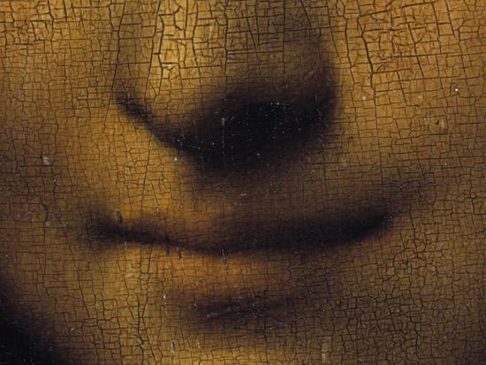 Mona Lisa-Leonardo da Vinci-Premium Giclee Print