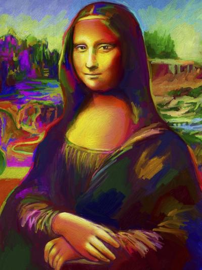 Mona Lisa-Howie Green-Giclee Print