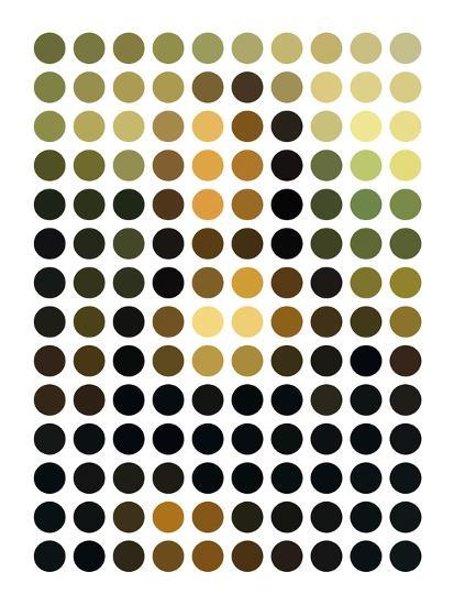 Mona Re-Mixed-Gary Andrew Clarke-Giclee Print