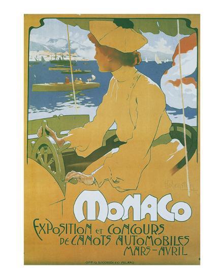 Monaco Exposition et Concours 1904-Adolfo Hohenstein-Art Print