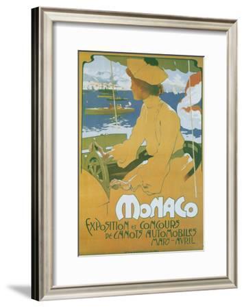 Monaco Exposition et Concours 1904-Adolfo Hohenstein-Framed Art Print