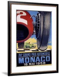 Monaco Grand Prix F1, c.1958 by J Ramel