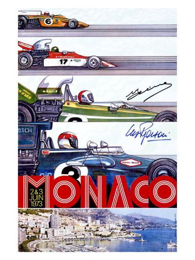 Monaco Grand Prix F1 Race, c.1973--Giclee Print